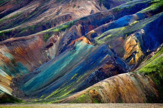 Landmannalaugar Iceland (77 pieces)