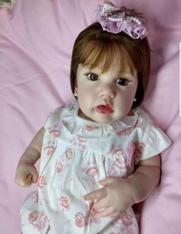 Boneca Bebê Reborn Molde Penny Menina Realista PENNY - Doce Criança Bonecas  Reborn e5c0dd563aa
