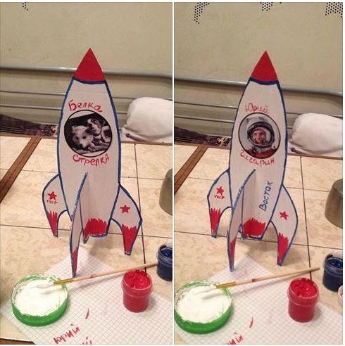 my_i_deti: Поделки на тему космоса
