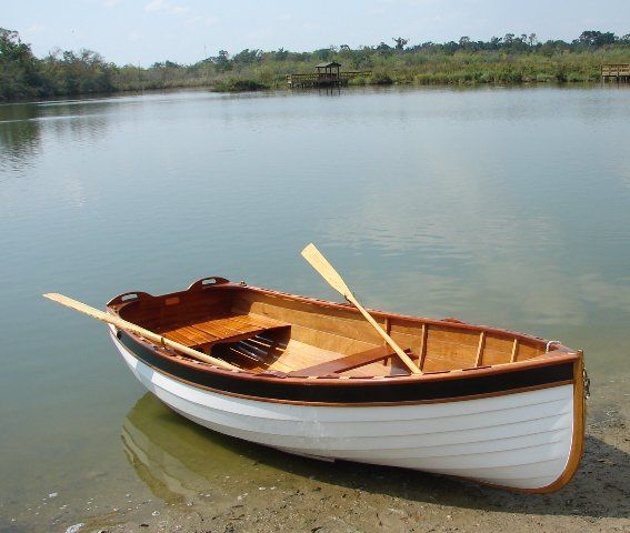 Small Wooden Boats : Puffin tender rowing configuration woodworking