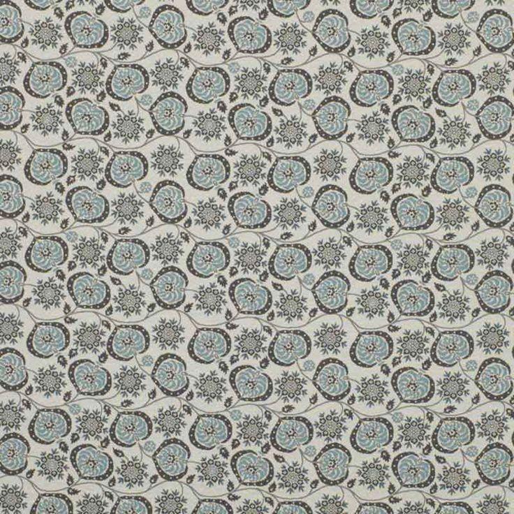 Warwick Fabrics : BOSTANI, Colour SPRING
