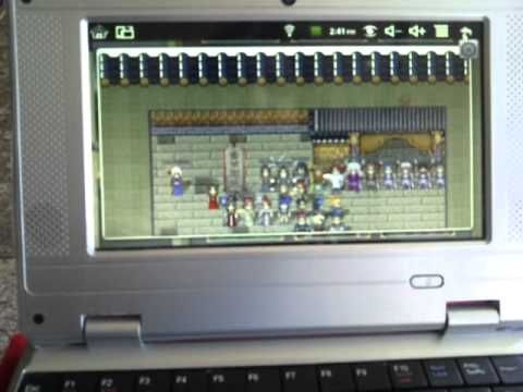 """Wolvol 7"""" Netbook with Camera Startup/Overview third , visi to www.wolvol.com"""