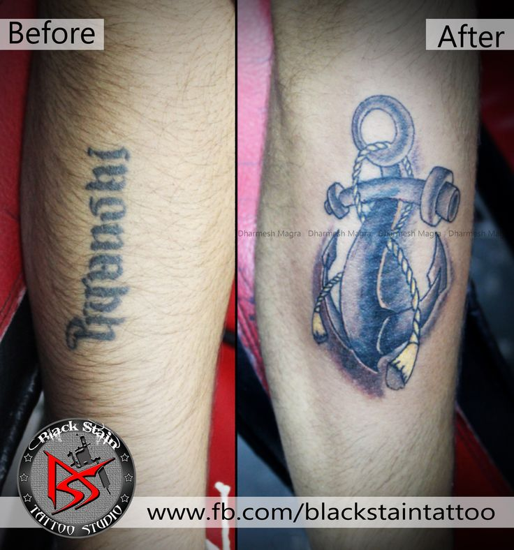 tattoo cover up      done by DHARMESH MAGRA