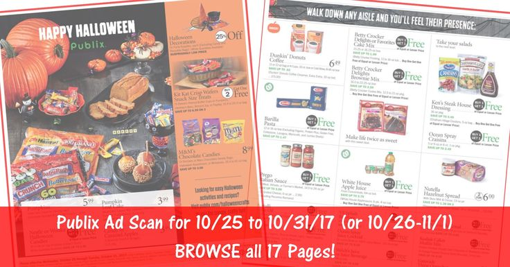 READY to BROWSE the actual upcoming Publix Weekly Ad Scan? Here is the Publix Weekly Ad Scan for 10/25/17 - 10/31/17 (10/26-11/1 for Some)! Click the Picture below to BROWSE all 17 Pages ► http://www.thecouponingcouple.com/publix-weekly-ad-scan-10-25-17/  #earlyad #PublixDeals #PublixAd #PublixAdPreview #PublixAdScan  Visit us at http://www.thecouponingcouple.com for more great posts!