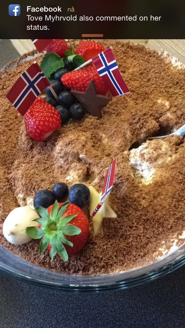 Dronning Mauds dessert