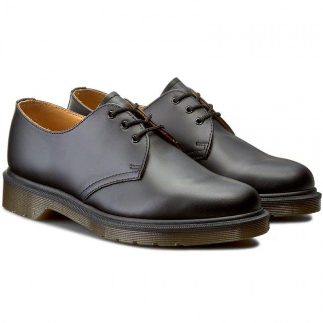 Polbuty Dr Martens 1461 Pw 10078001 Black Plaskie Polbuty Damskie Www Eobuwie Com Pl Dress Shoes Men Oxford Shoes Shoes