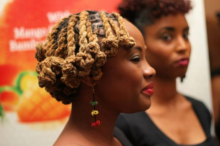 This Locs Hairstyle Tutorial Features The Loc Knots Bob