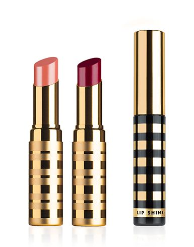 Two perfect lip colors that look perfect on everyone (well, everyone I know who has tried them!) and a lip gloss that isn't sticky, and all of it smells and feels divine!