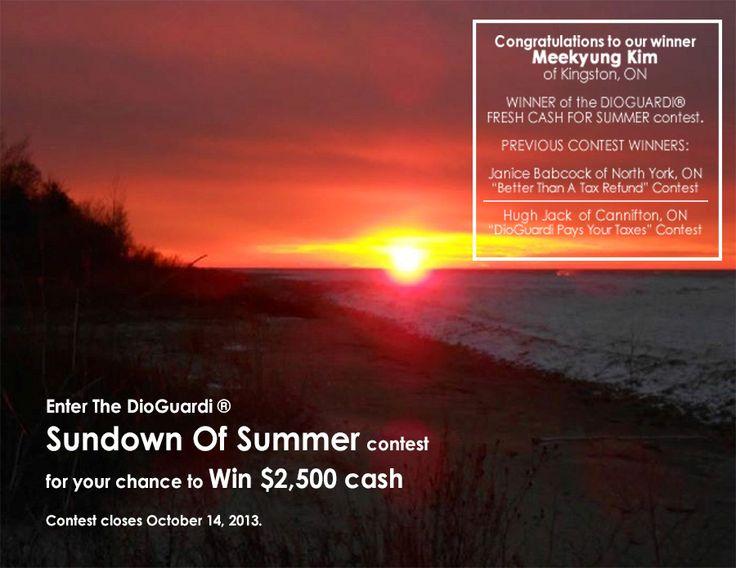 DioGuardi Sundown of Summer Contest