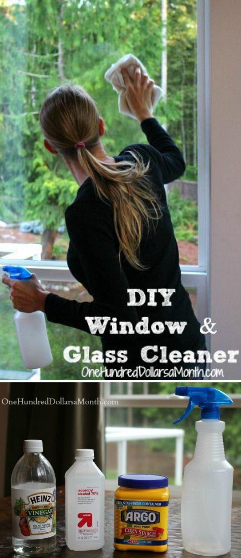 DIY, Window Cleaner Recipe, DIY Window Clear Recipe, DIY Cleaning Products, Window Cleaner Recipe