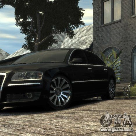 2008 facelifted Audi A8 6.0 W12 in Transporter 3