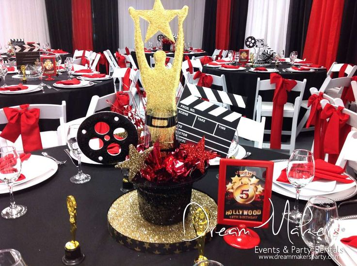 Best 25 hollywood birthday parties ideas on pinterest for 13th birthday party decoration ideas