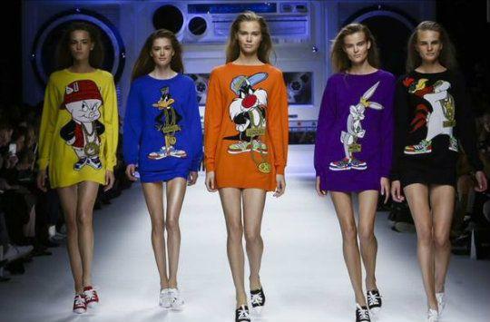 Fashion and cartoons