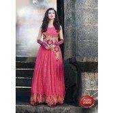 designer-classic-royal-pink-colour-gown