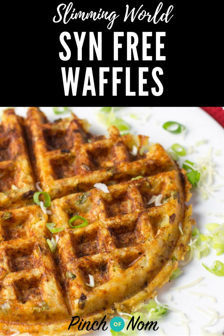 Syn free Waffles | Slimming World Recipes - pinchofnom.com
