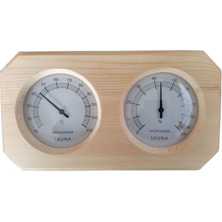 Sauna Thermometer Hygrometer ANNA CLASSIC Klimamesser Saunazubehör