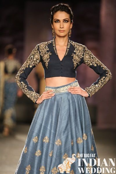 Anju Modi's Manikarnika Bridal Collection {India Couture Week 2014} - Gallery - TheBigFatIndianWedding.com