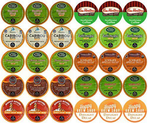 30-count TOP BRAND DECAF COFFEE K-Cup Variety Sampler Pack, Single-Serve Cups for Keurig Brewers - http://thecoffeepod.biz/30-count-top-brand-decaf-coffee-k-cup-variety-sampler-pack-single-serve-cups-for-keurig-brewers/