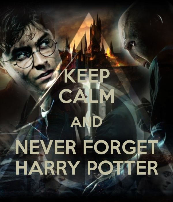 Keep Calm and Never Forget Harry Potter by GamerGirl929 ...