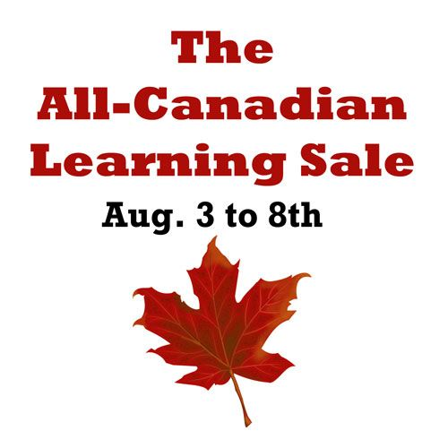 Looking for some Canadian learning resources? Here's the sale you won't want to miss! Over the years, I've both participated in and bought…
