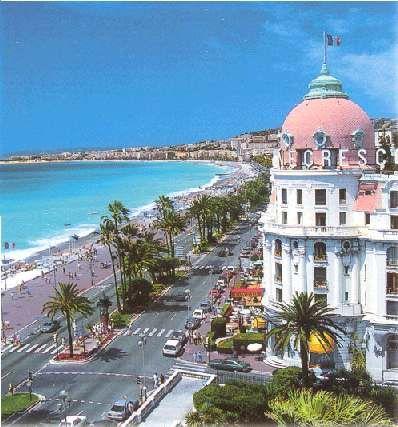 Hotel Negresco à Nice sur la Promenade des Anglais