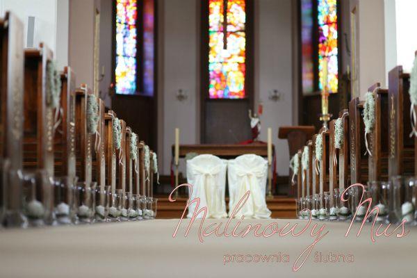 Dekoracja kościoła.