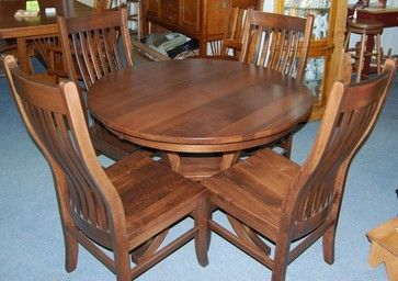 1000 images about Arts & Craft Dining Table Chairs