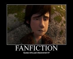 Fanfiction ROCKS! I enjoy seeing what the fans create from the movies and use their imaginations. I'm already thinking up some cool story ideas.
