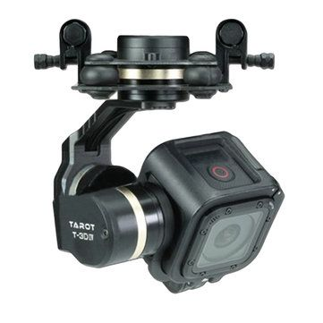 Only US$133.99, buy best Tarot TL3T02 T-3D IV 3 Axis Brushless Gimbal for Gopro Hero 4 SESSION Camera  sale online store at wholesale price.US/EU warehouse.