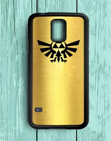 Legend Of Zelda Triforce Gold Samsung Galaxy S5 Case