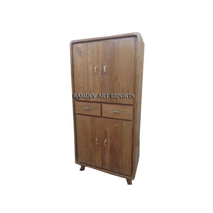 Indian Teak Cabinet | Indian Wooden Teak Cabinet | Indian Teak Almirah | Indian Teak Wood Wardrobe | Teak Armoire