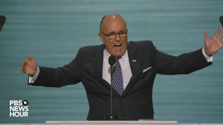 Former NYC Mayor Rudy Giuliani's full speech at RNC 2016