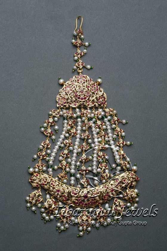 Kundan Jadai Jhoomar | Tibarumal Jewels | Jewellers of Gems, Pearls, Diamonds, and Precious Stones