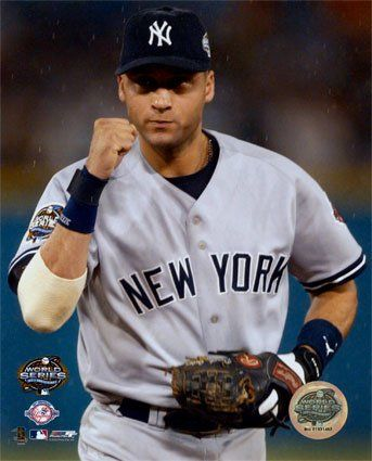 Derek Jeter  The second Yankee I have ever liked that started with the Yankees and will end with the Yankees.