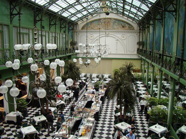 Jardim De Inverno Restaurante Do Grand Hotel Krasnapolsky