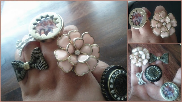 I love costume jewellery and own quite a few pieces from Diva, Forever New, Target and Colette.  Some time back, I had requested Lilit from Makeup and Macaroons for a post on herjewellerycollection. Since then I have been wanting to do ajewellerypost showing some of my blingychunkypieces... so