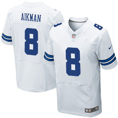 ... Mens Nike Dallas Cowboys 8 Troy Aikman Elite White NFL Jersey Sale  Junior Seau jersey Nike Darrelle Revis New York Jets ... b9d3a545a