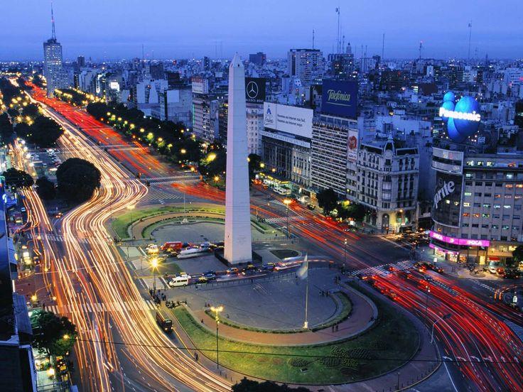 Buenos Aires Argentina Tourist Attractions | Avenida 9 De Julio Buenos Aires In Argentina South America | Seven ...