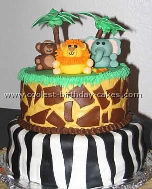 Jungle and Safari Cake