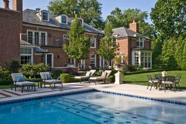 The Carbonari Residence traditional-pool
