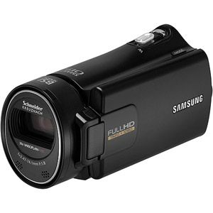 "Samsung H300 Black Full HD Digital Camcorder w/ 30x Optical Zoom, 3.0"" LCD Display"