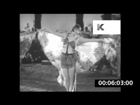 1920s, 1930s Dancing Girls in Bikinis and Butterfly Wings, Showgirls