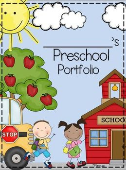 Preschool is an exciting time! It's a child's first years in a school setting and it's a year of tremendous growth!! This is an excellent way to showcase their growth throughout the year and it makes a great end of the year gift and keepsake!! It's a portfolio and memory book rolled into one!! Included in the product: -A cover page for the portfolio (Preschool, Pre-K, and TK options) -Monthly divider/title pages with a poem for that month and spaces to add photos -Monthly ...