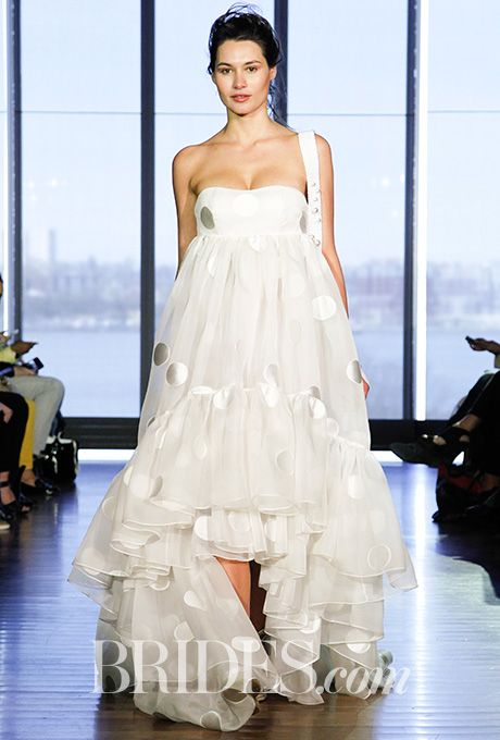 685 best bridal fashion week images on pinterest | wedding frocks