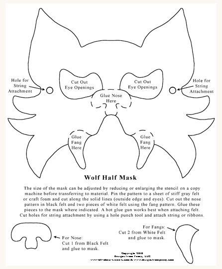 Printable Cat Ears Grey Templates
