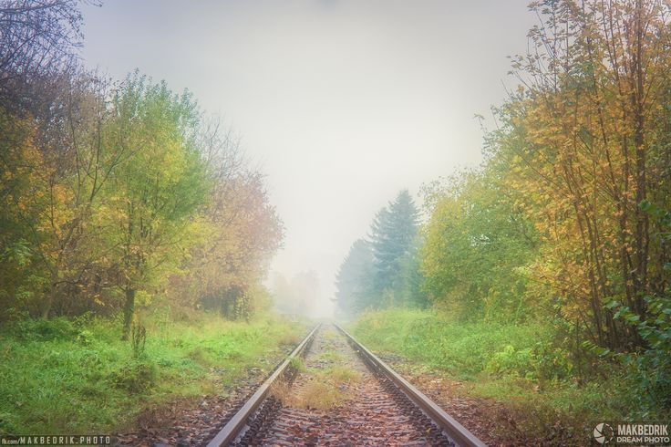 Autumn Rail by Matthew Vavrek on 500px