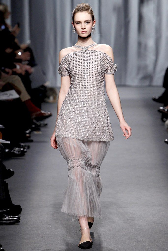 Chanel Spring 2011 Couture Fashion Show - Maddie Kulicka
