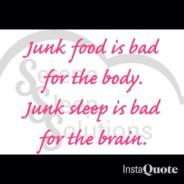 Sleep is just as important as eating healthy. This goes for all ages! During sleep your body's energy is restored, tissue growth and repair occur, blood supply to the muscles increase and your immune system strengthens. Don't feel guilty about getting the sleep you need!