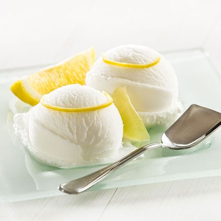 Low Carb Zitronensorbet selber machen
