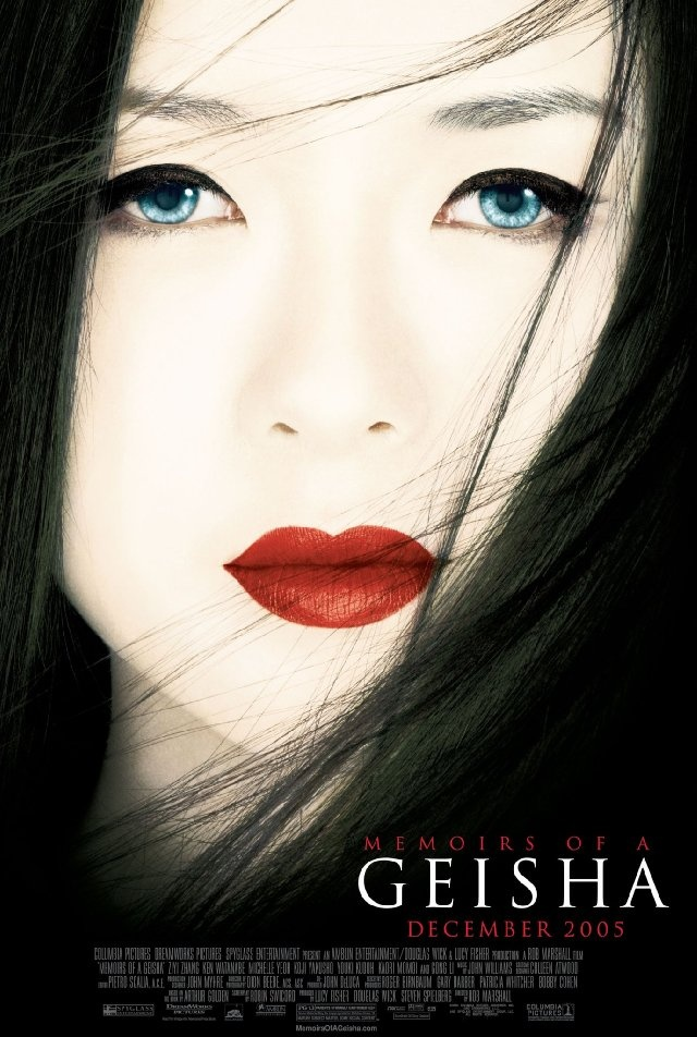 Memoirs of a Geisha! I own the book, but I still have not seen the movie... I should change that!